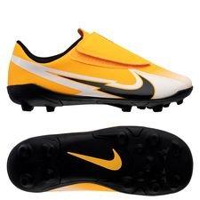 Nike Mercurial Vapor 13 Club Velcro MG Daybreak - Orange/Sort/Hvid Børn