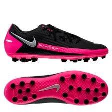 Nike Phantom GT Academy AG - Sort/Sølv/Pink