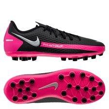 Nike Phantom GT Academy AG - Sort/Sølv/Pink Børn