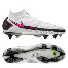 Nike Phantom GT Elite DF SG-PRO - Hvid/Pink/Sort