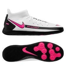 Nike Phantom GT Club DF IC - Hvid/Pink/Sort