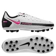 Nike Phantom GT Academy AG Daybreak - Hvid/Pink/Sort Børn