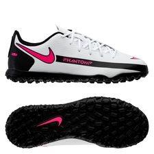 Nike Phantom GT Club TF Daybreak - Hvid/Pink/Sort Børn