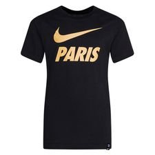 Paris Saint-Germain T-Shirt Training Ground - Svart/Guld Barn