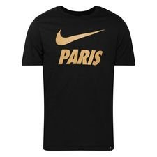 Paris Saint-Germain T-Shirt Training Ground - Svart/Guld