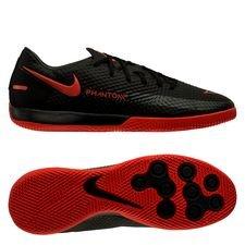 Nike Phantom GT Academy IC Black X Chile Red - Sort/Rød/Grå