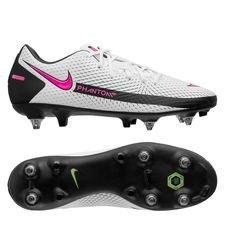 Nike Phantom GT Academy SG-PRO - Hvid/Pink/Sort