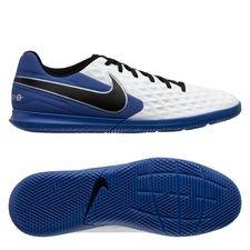 Nike Tiempo Legend 8 Club IC - Hvid/Sort/Blå/Sølv