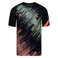 Tottenham Tränings T-Shirt Pre Match - Svart/Orange Barn