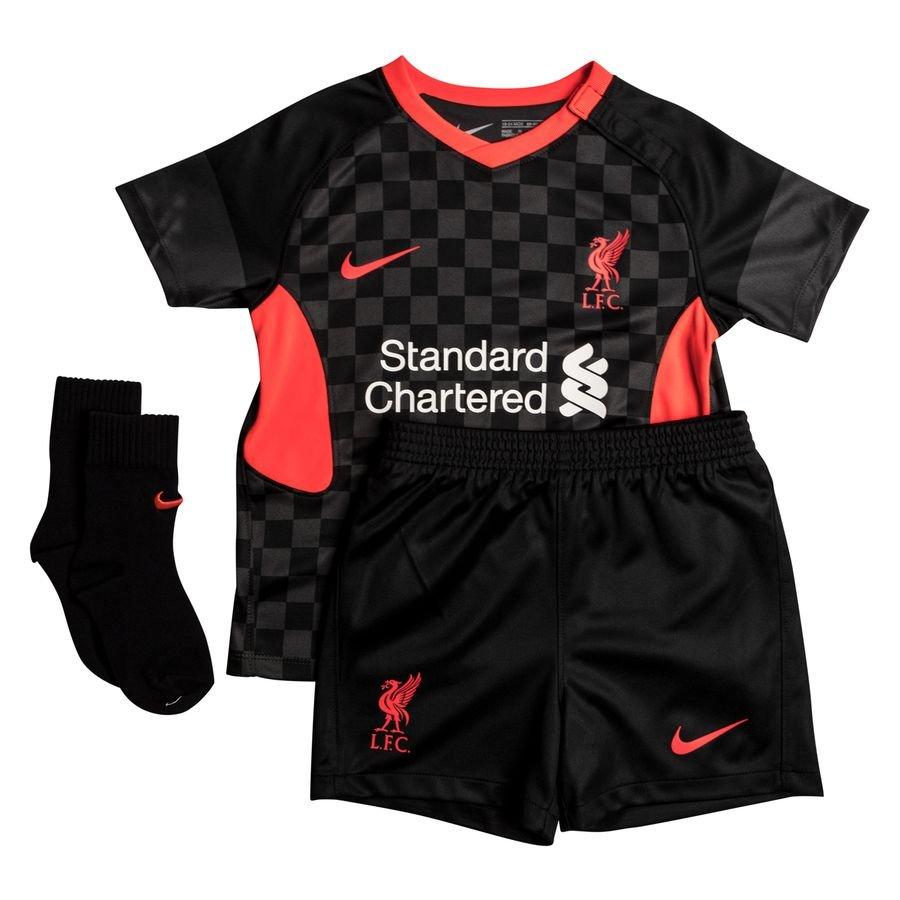 Liverpool 3. Trøje 2020/21 Baby-Kit Børn