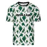 Nigeria Training T-Shirt Pre Match - White/Pine Green/Black Kids