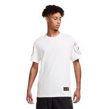Paris Saint-Germain T-Shirt Logo Jordan x PSG - Vit