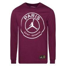 Paris Saint-Germain T-Shirt Jordan x PSG - Bordeaux/Vit