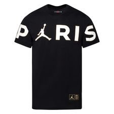 Paris Saint-Germain T-Shirt Wordmark Jordan x PSG - Svart/Vit