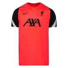 Liverpool Tränings T-Shirt Breathe Strike - Rosa/Svart/Grå