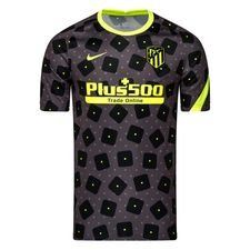 Atletico Madrid Tränings T-Shirt Pre Match - Svart/Neon