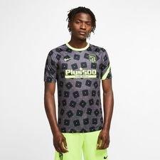 Atletico Madrid Tränings T-Shirt Pre Match - Svart/Neon
