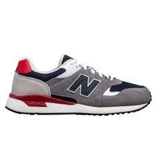 New Balance Sneaker Ml570 Sneaker - Grau/rot