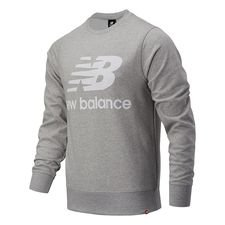 New Balance Essentials Crewneck Logo - Athletic Grey/Weiß