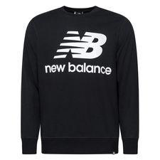 New Balance Essentials Crewneck Logo - Schwarz/Weiß