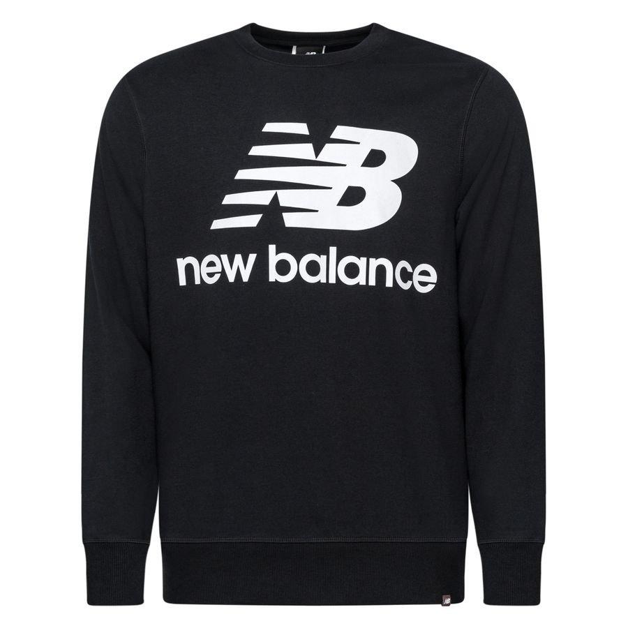 New Balance Essentials Crewneck Logo - Svart/Vit
