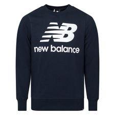 New Balance Essentials Crewneck Logo - Navy/Weiß