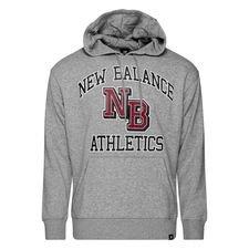 New Balance Athletics Varsity Pack Hoodie - Grau/schwarz