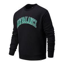 New Balance Athletics Varsity Pack Sweatshirt - Schwarz/Varsity Grün