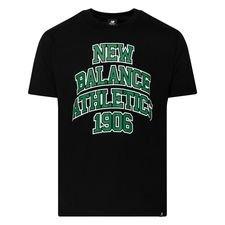 New Balance Athletics Varsity Pack T-Shirt - Schwarz/Varsity Grün