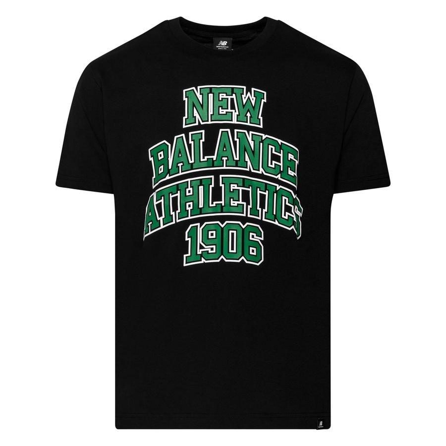 New Balance Athletics Varsity Pack T-Shirt - Svart/Grön