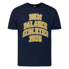 New Balance T-shirt Athletics Varsity Pack - Natural Indigo/gelb