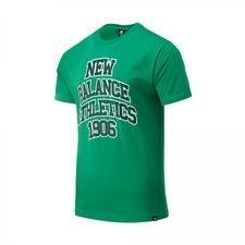 New Balance Athletics Varsity Pack T-Shirt - Varsity Grün/Schwarz