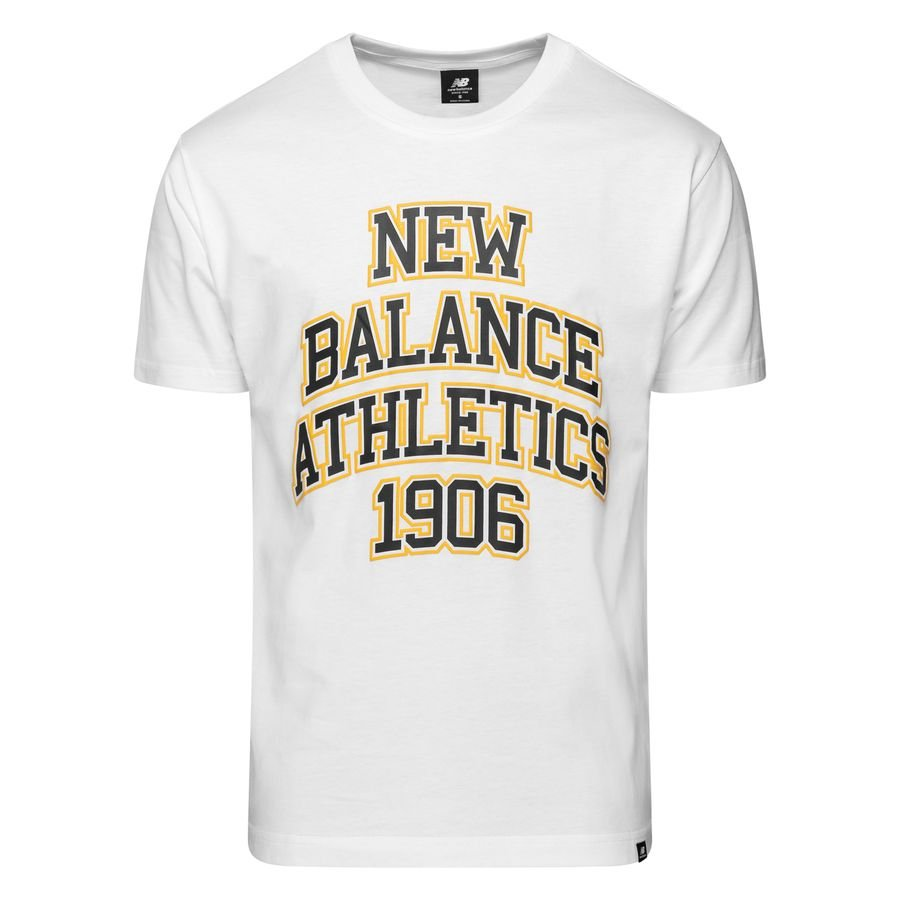 New Balance Athletics Varsity Pack T-Shirt - Vit/Navy