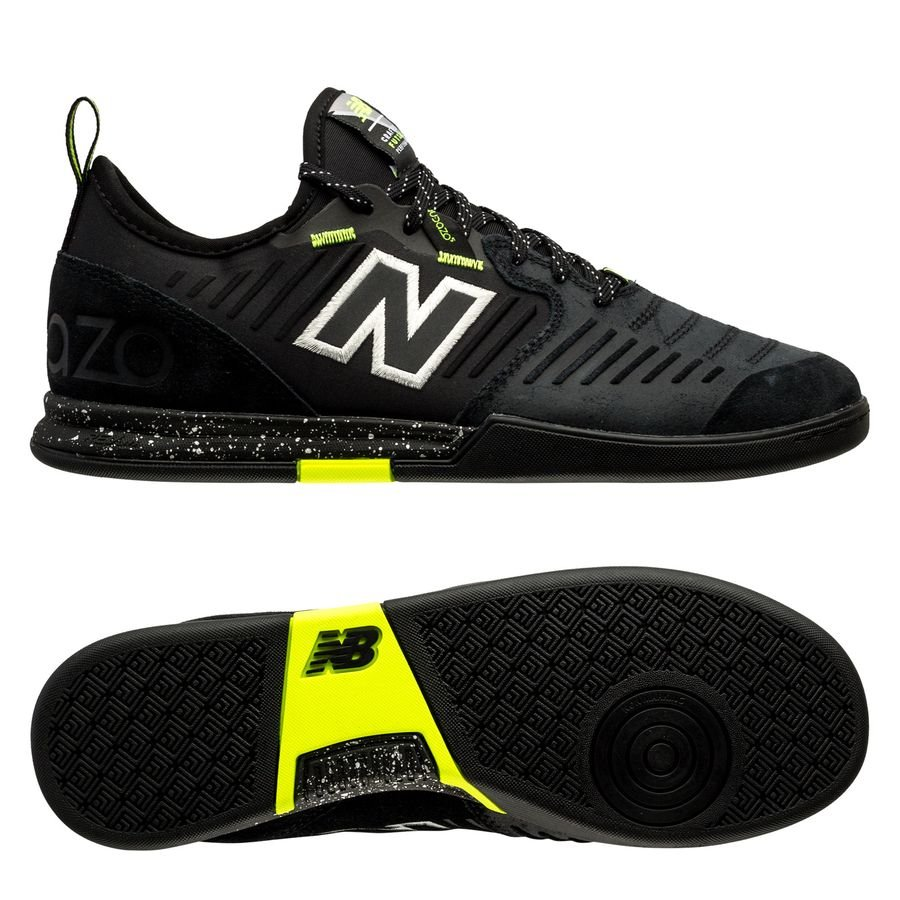 juntos Advertencia Elasticidad  New Balance Audazo V5 Pro IN - Black/Yellow | www.unisportstore.com
