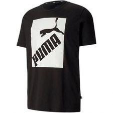 PUMA T-Shirt Logo - Svart/Vit