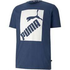 PUMA T-Shirt Logo - Blå/Vit