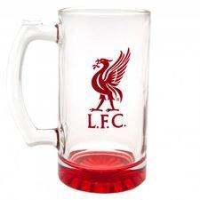 Liverpool Ölglas - Röd