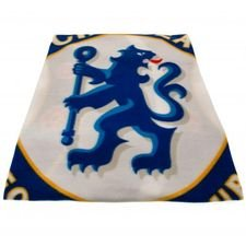 Chelsea Fleece Filt - Vit/Blå