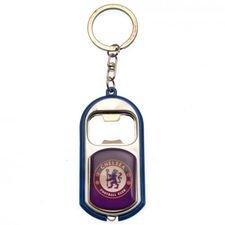 Chelsea Flasköppnare & Nyckelring - Blå
