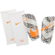 Nike Scheenbeschermers Mercurial Lite CR7 Safari - Wit/Zwart/Oranje <br/>EUR 27.99 <br/> <a href=