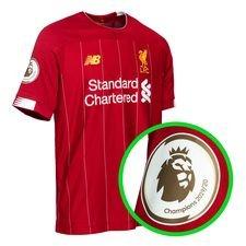 Liverpool Hemmatröja 2019/20 + Champions 2019/20 Armmärke