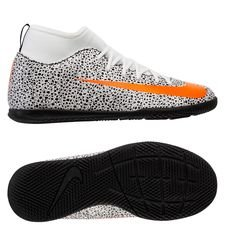 Nike Mercurial Superfly 7 Club IC CR7 Safari - Wit/Oranje/Zwart Kinderen LIMITED