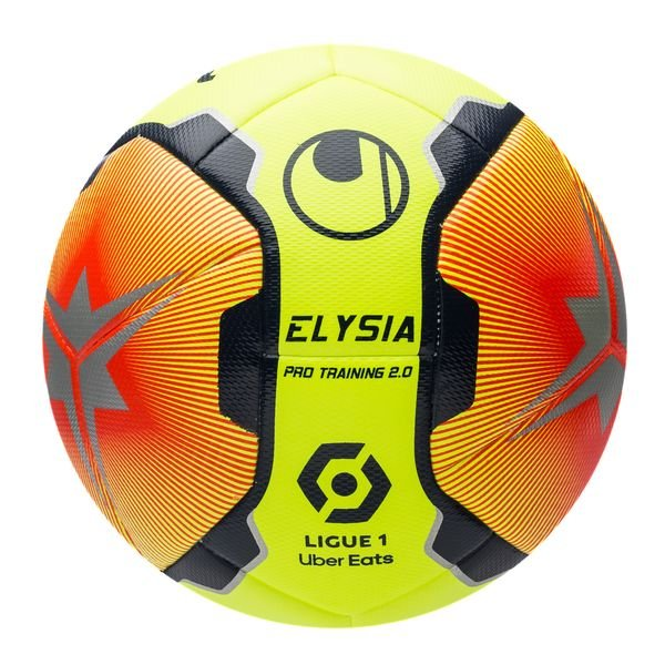 Uhlsport Football Elysia Ligue 1 2020 21 Pro Training 2 0 Fluo Yellow Fluo Red Navy Www Unisportstore Com