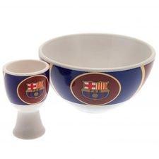 Barcelona Frukost-kit - Blå/Vit