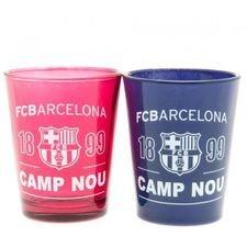 Barcelona Shotglas 2-Pack - Navy/Rosa
