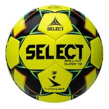 Select Fotboll Brillant Super TB V20 3F Superliga - Gul/Grön