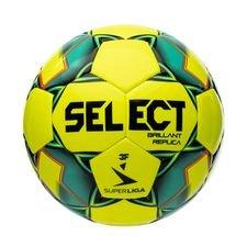 Select Fotboll Brillant Replica V20 3F Superliga - Gul/Grön