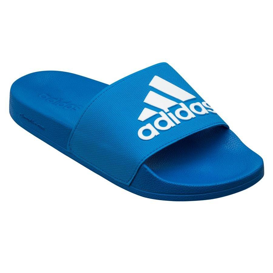adidas Badesandal adilette Shower - Blå/Hvid thumbnail