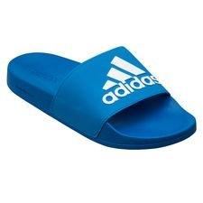 adidas Badelatschen adilette Shower - Blau/Weiß