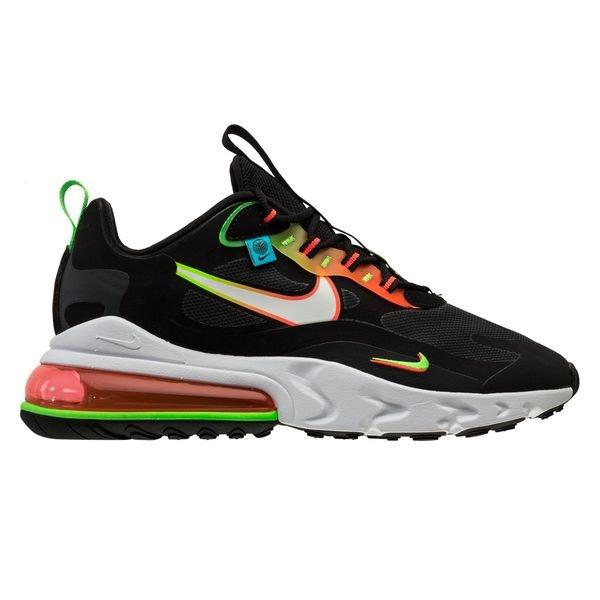 comprender R Económico  Nike Air Max 270 React Worldwide - Black/White/Green Strike/Flash Crimson |  www.unisportstore.com